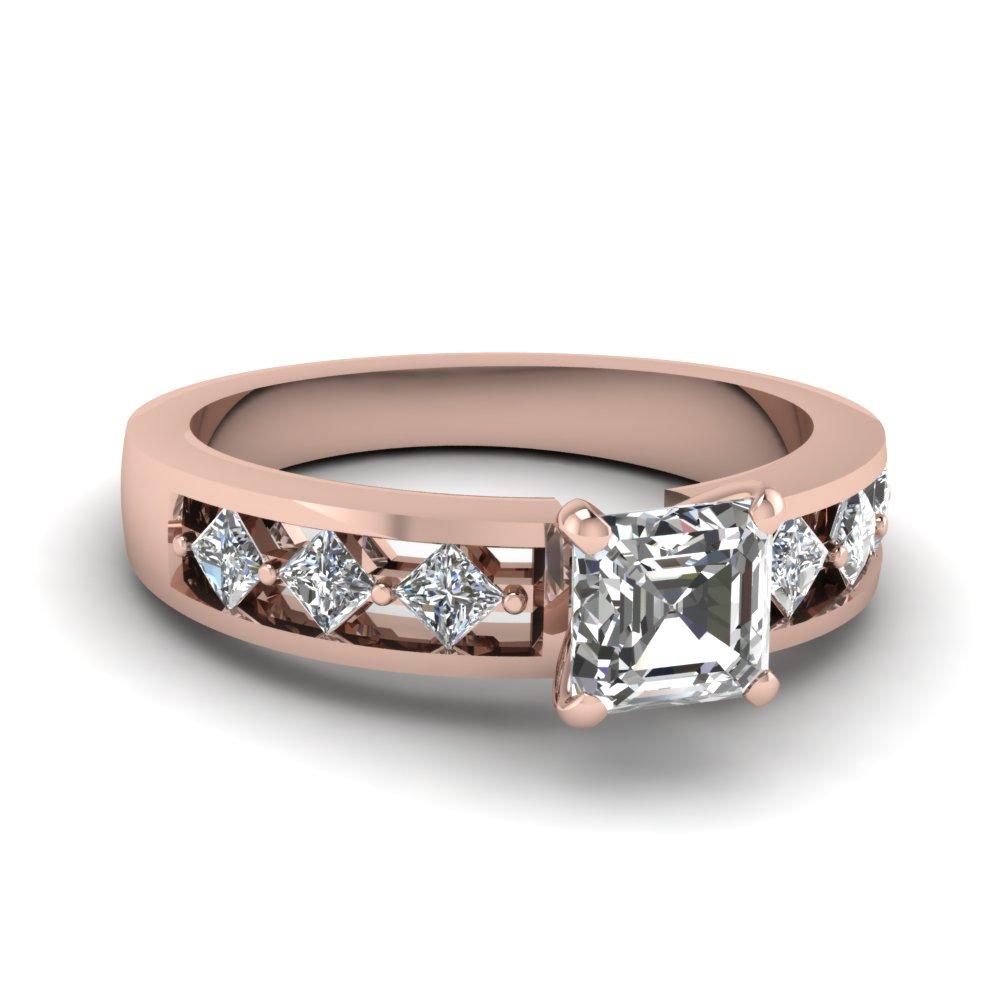 Womens Diamond Engagement Ring