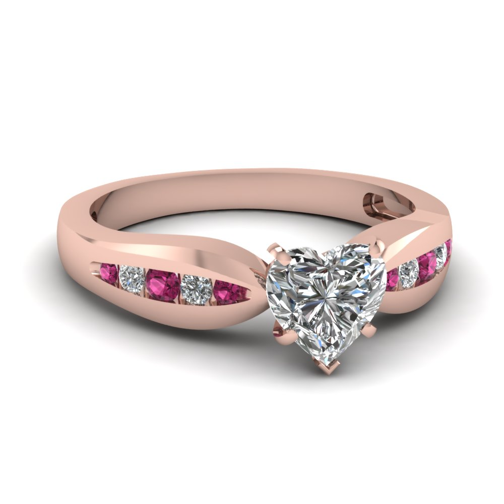 rose-gold-heart-white-diamond-engagement-wedding-ring-with-dark-pink-sapphire-in-channel-set-FDENS3113HTRGSADRPI-NL-RG