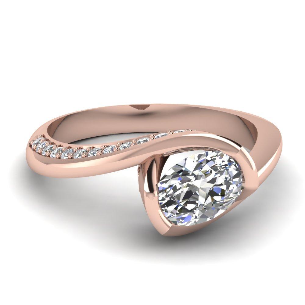 Bezel Swirl Ring