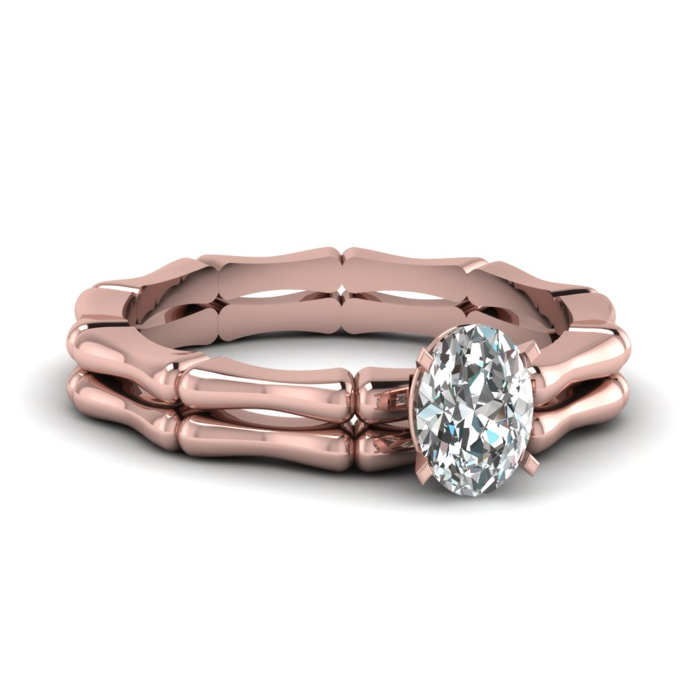 rose gold solitaire small wedding rings - Small Wedding Rings