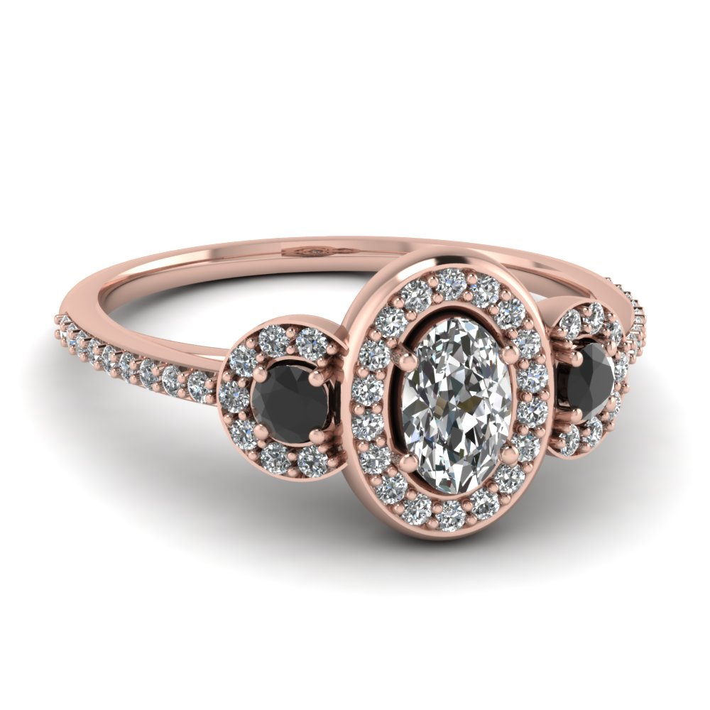 Trident Halo Ring