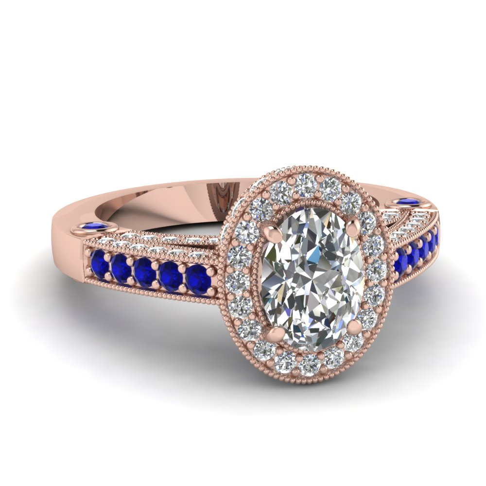 Beguiling Halo Ring