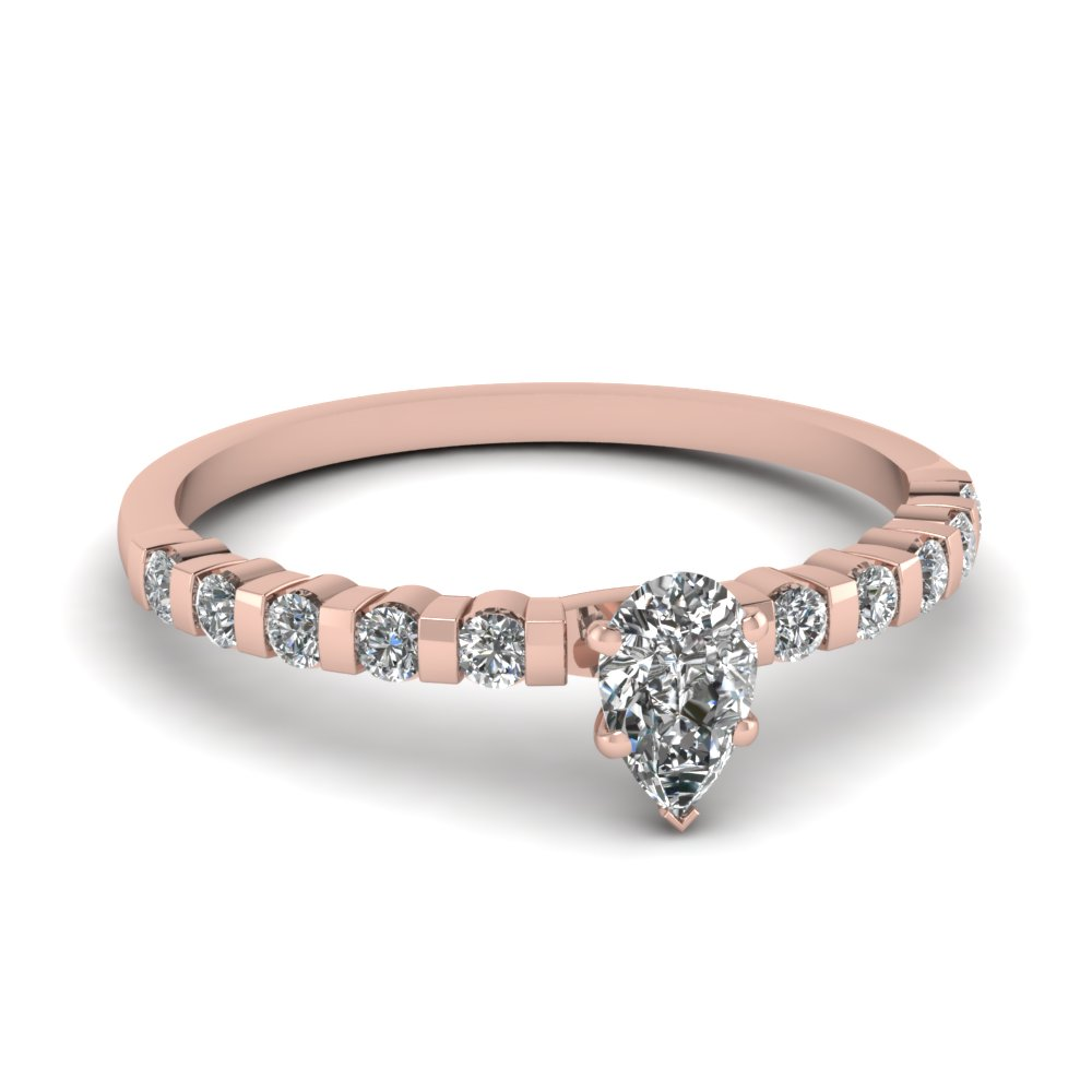 Rose Gold Engagement Rings Rose Gold Engagement Rings Pear Cut Sapphire