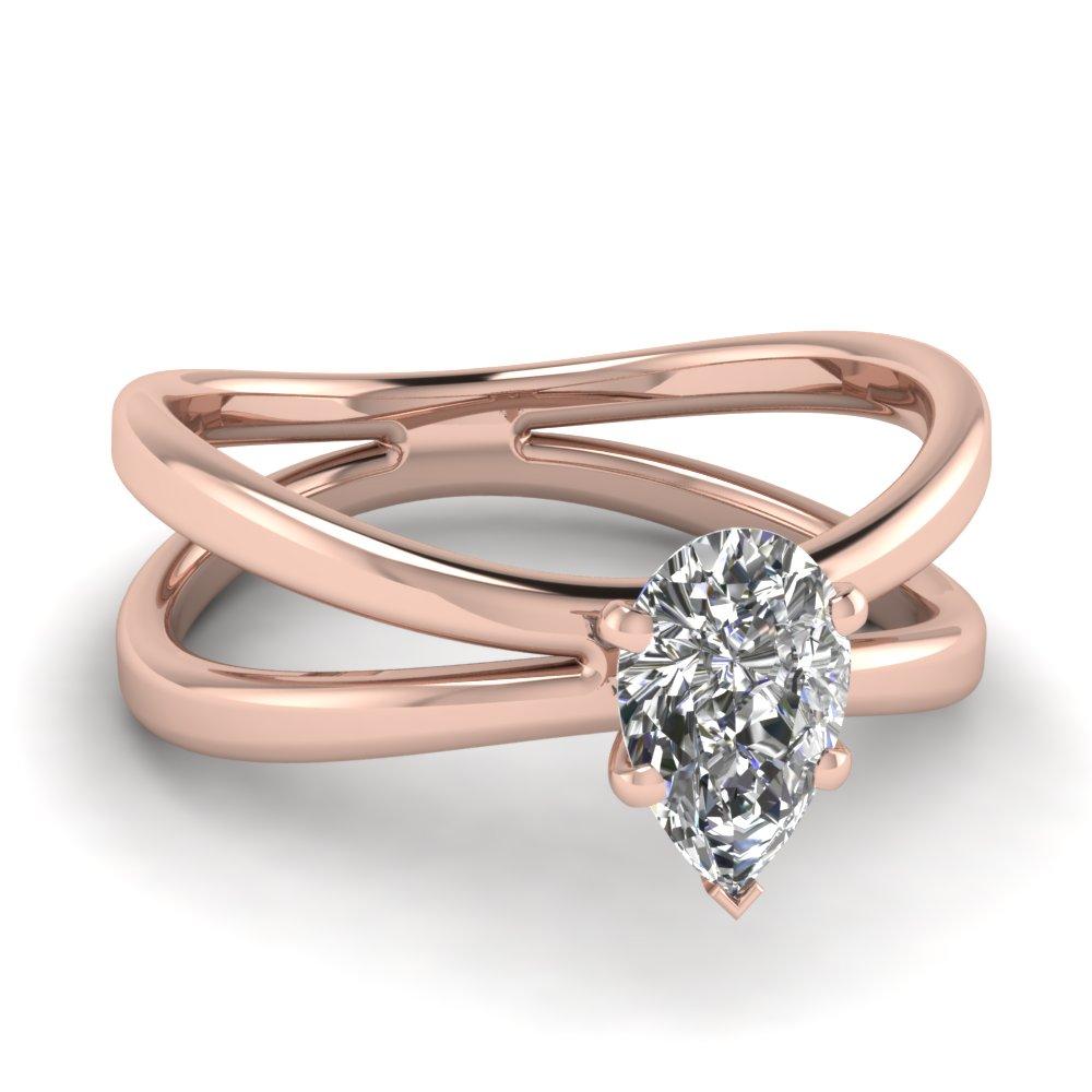 Rose Gold Engagement Ring Mountings