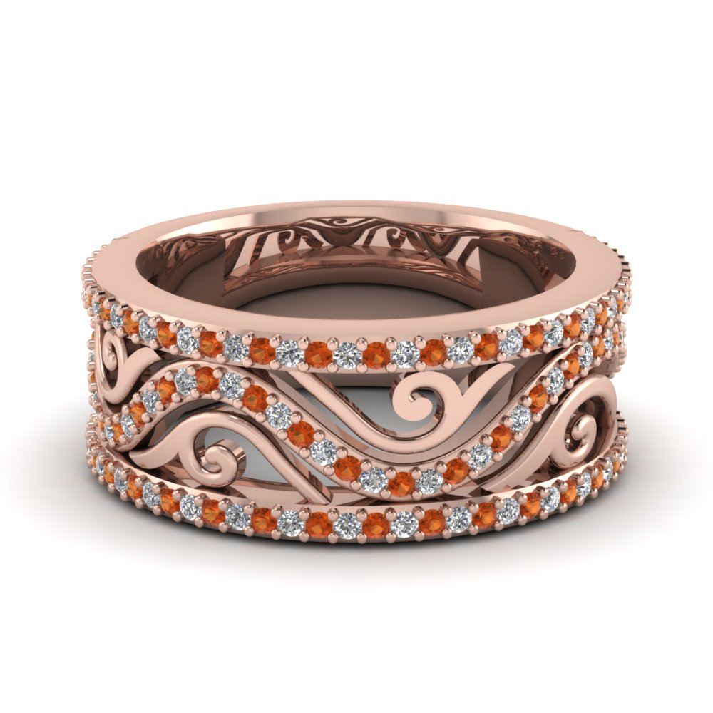 Expensive Rose Gold Wedding Band