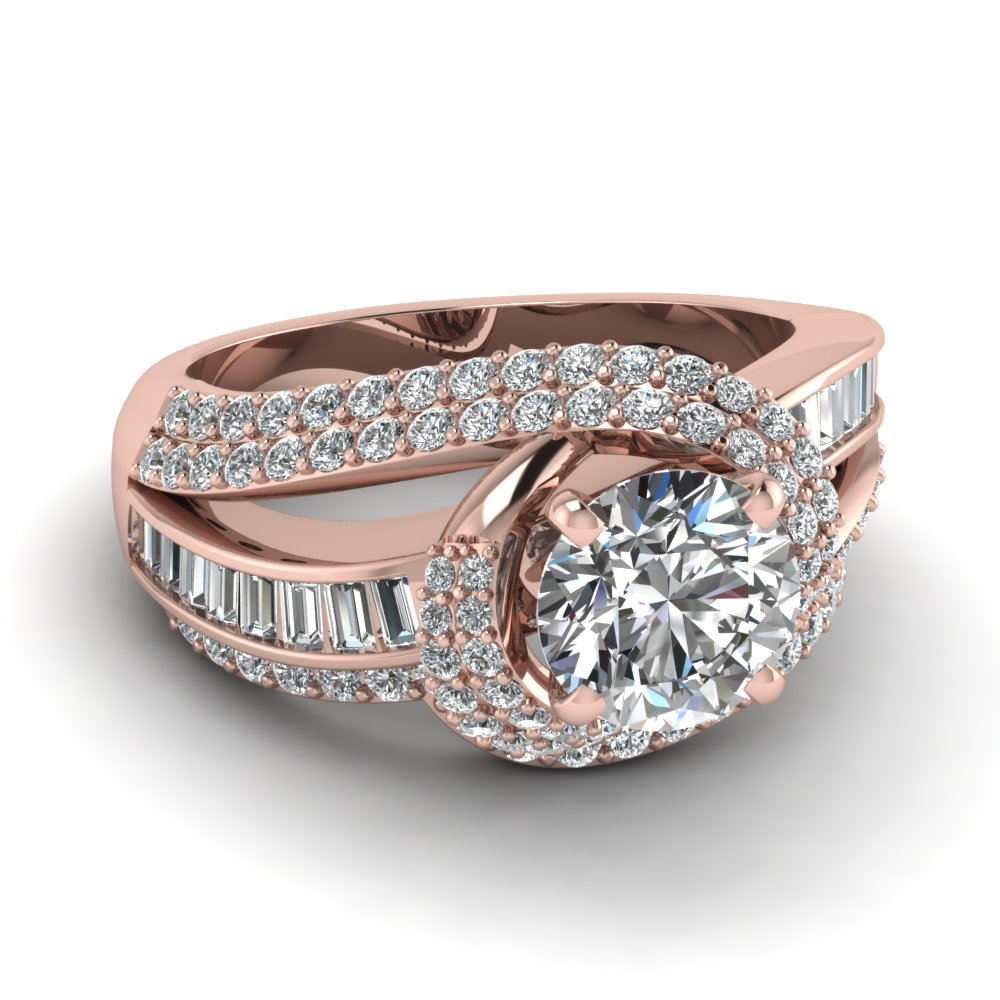 rose gold engagement rings rose gold engagement rings round diamond