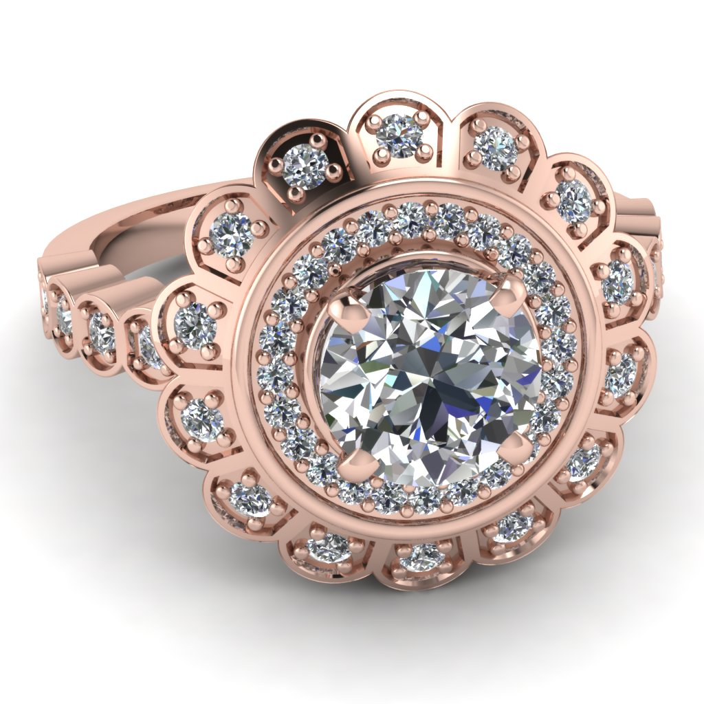 Gold Engagement Rings Are Rose Gold Engagement Rings Expensive