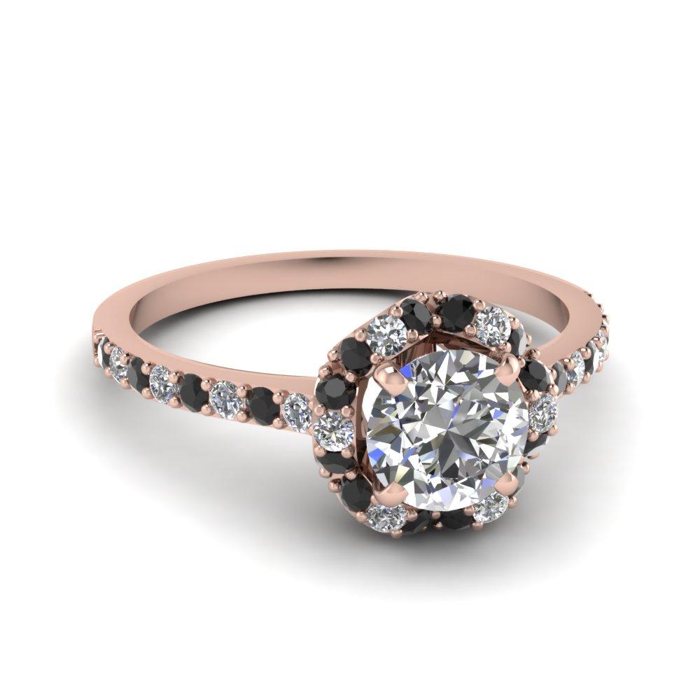 Petal Halo Ring