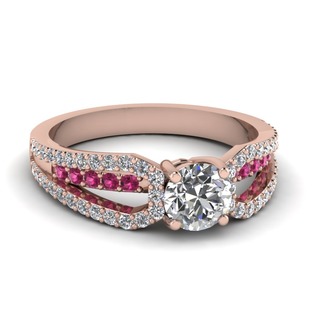 rose-gold-round-white-diamond-engagement-wedding-ring-with-dark-pink-sapphire-in-prong-set-FD68717RORGSADRPI-NL-RG