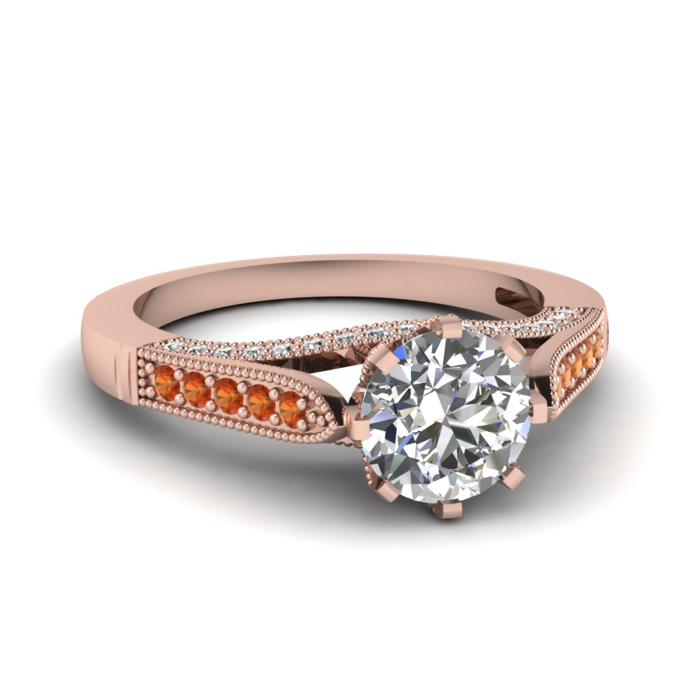Traditional Round Diamond Wedding Ring