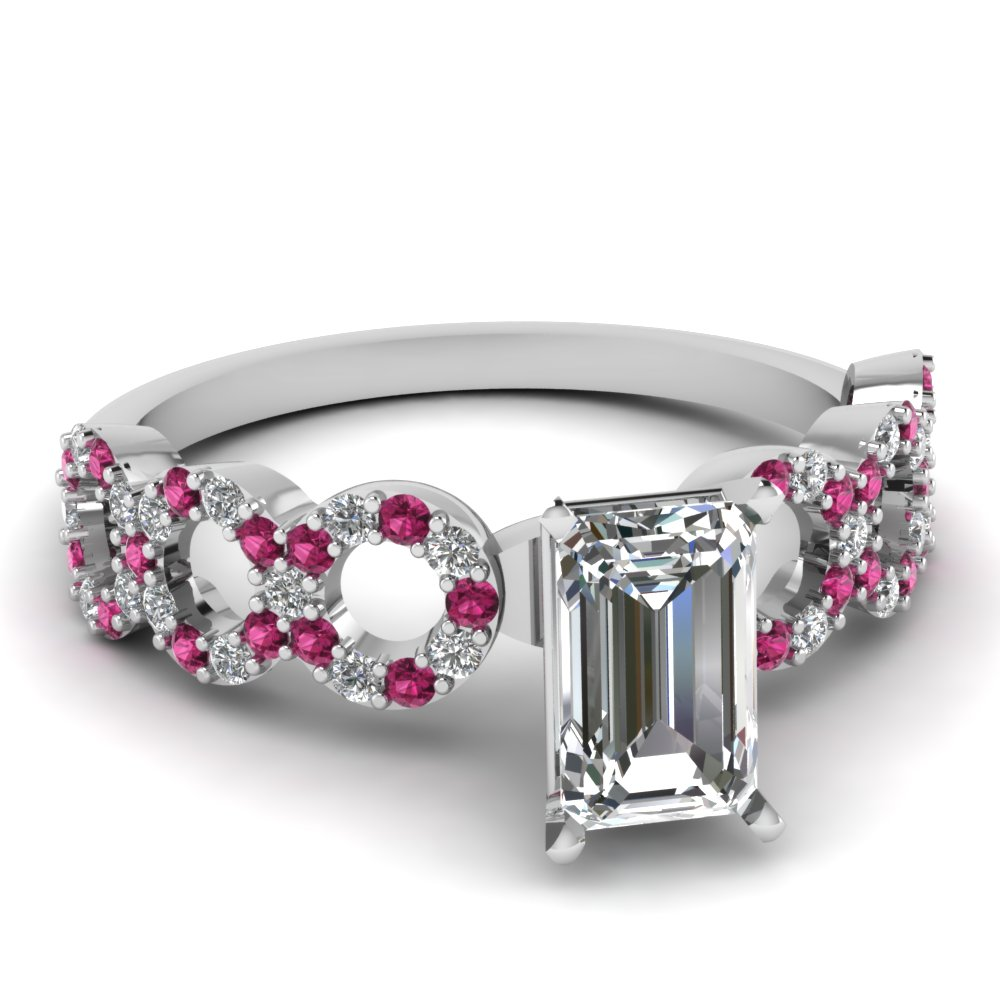 1 carat emerald cut engagement ring fascinating diamonds