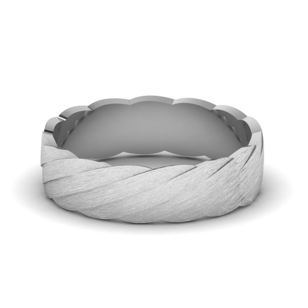 white-gold-frilly-carved-mens-wedding-band-FDM821B-NL-WG