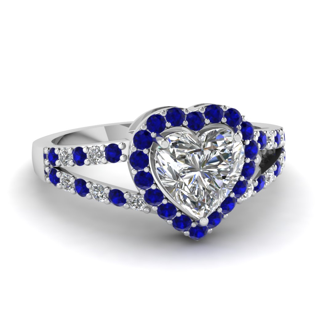 halo heart ring fascinating diamonds