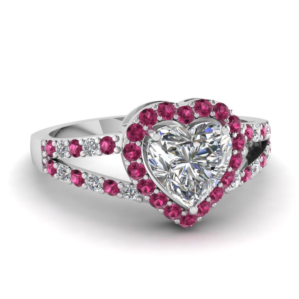 Halo Heart Ring