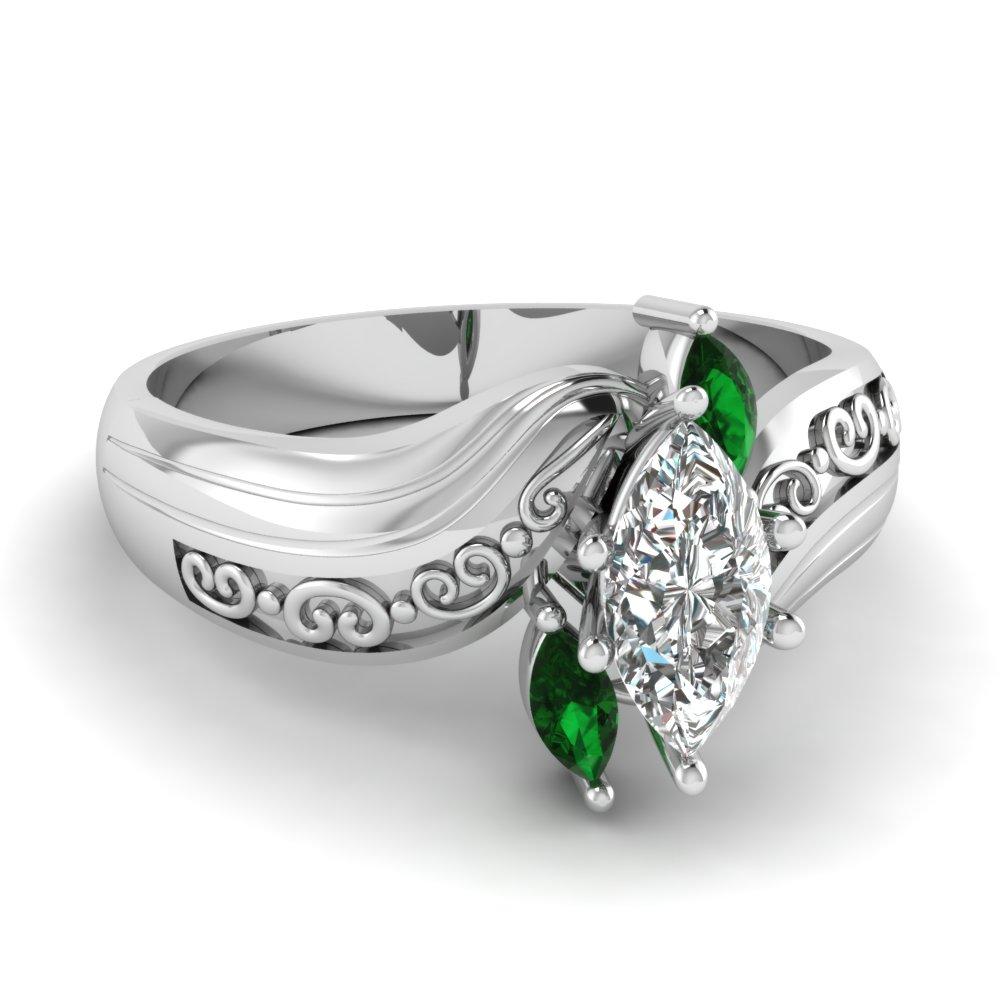 marquise ring fascinating diamonds