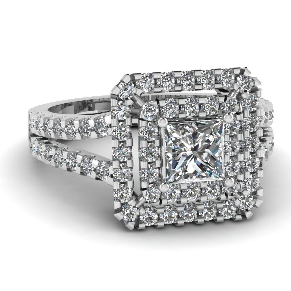 effervescent halo ring fascinating diamonds