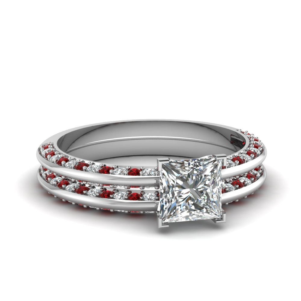 Latest Trends Thin Band Engagement Rings