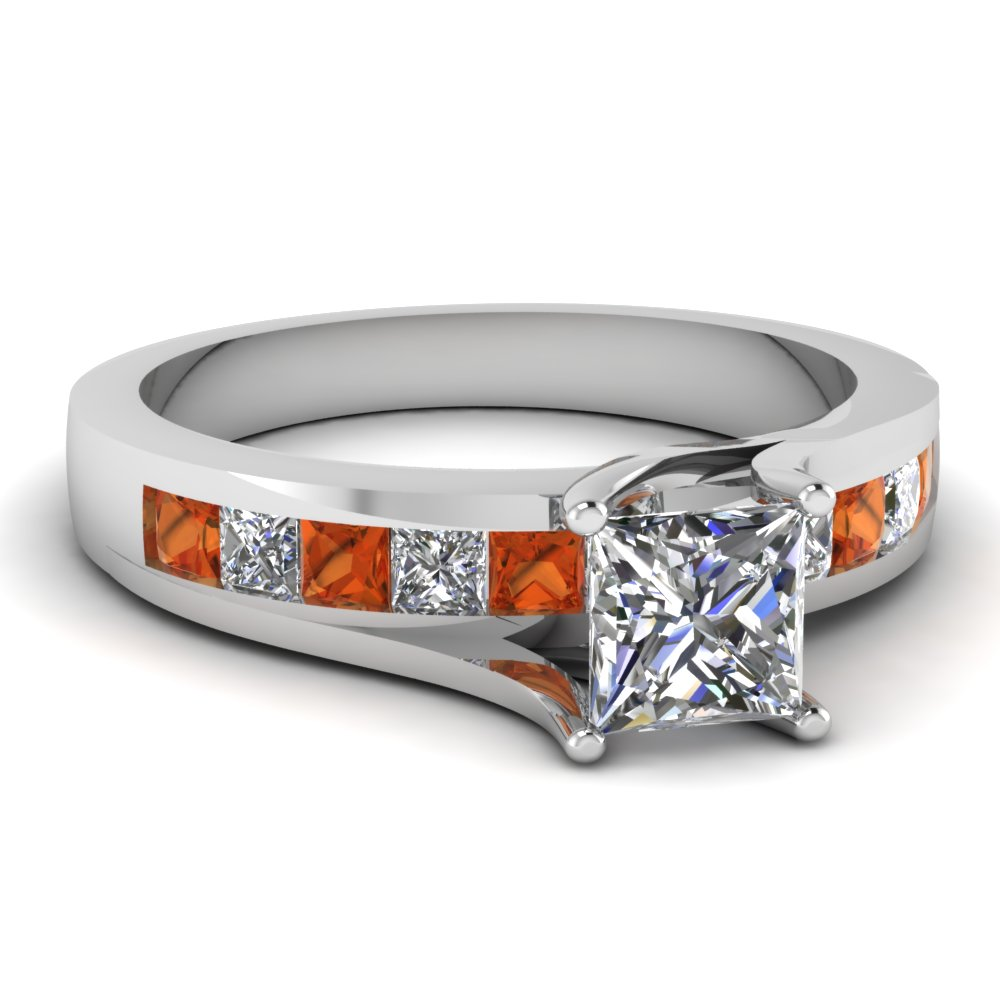 white-gold-princess-white-diamond-engagement-wedding-ring-with-orange-sapphire-in-channel-set-FDENR7776PRRGSAOR-NL-WG