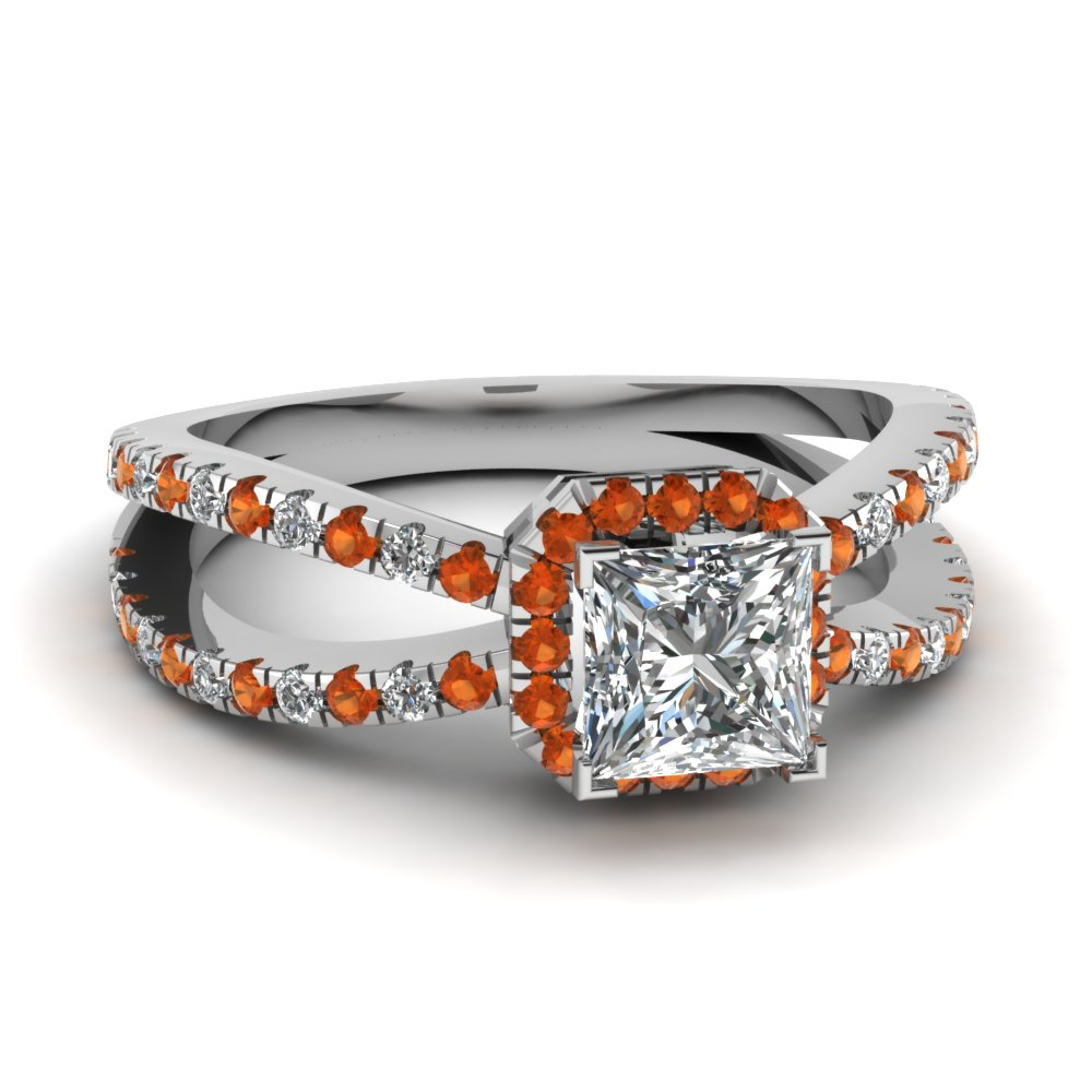 split cascade ring fascinating diamonds