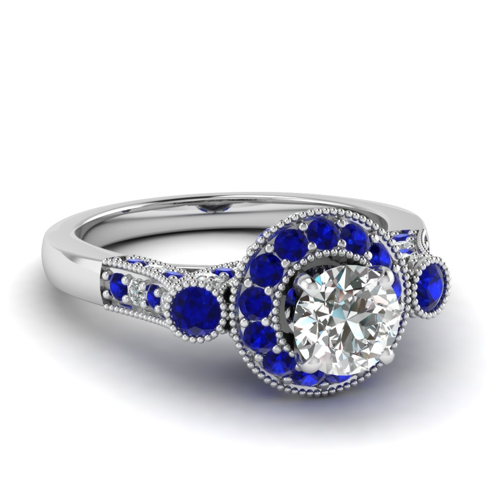Extraordinary Styles Of Sapphire Engagement Rings