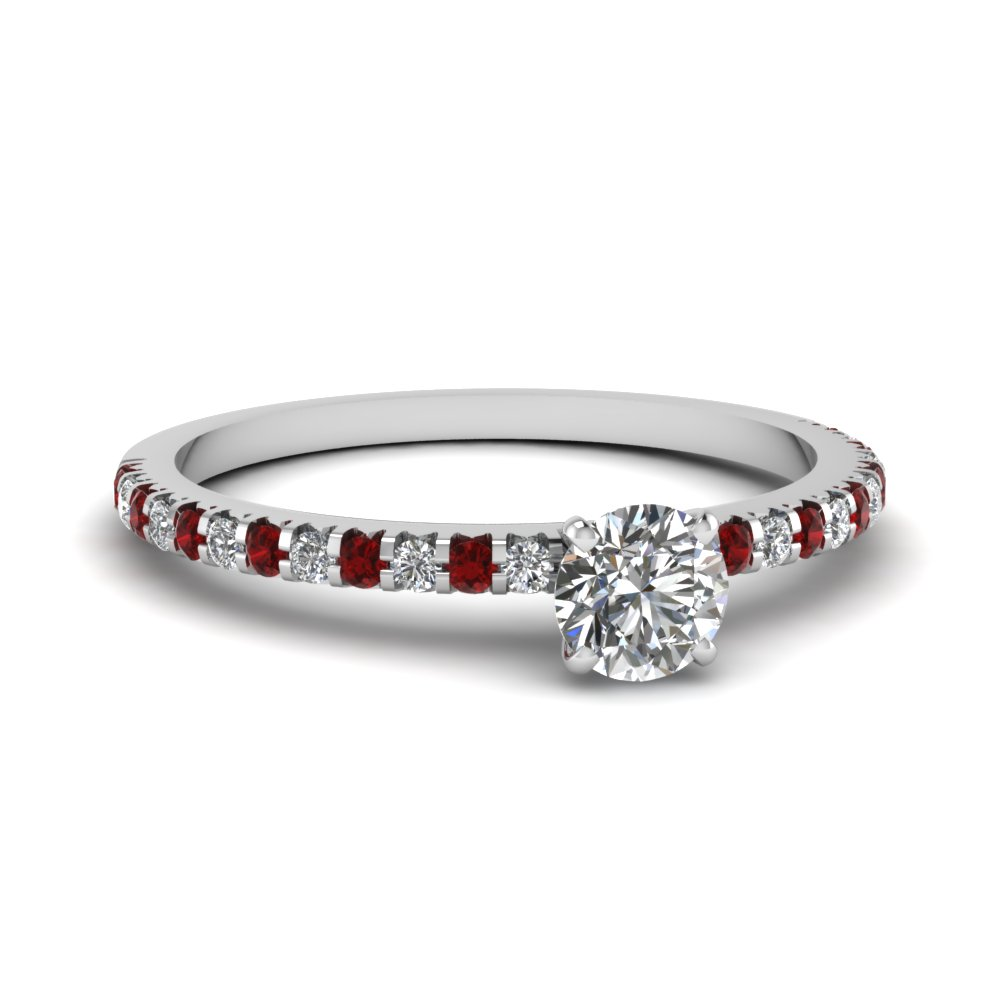 Top trends of small engagement rings fascinating diamonds for Tiny wedding ring
