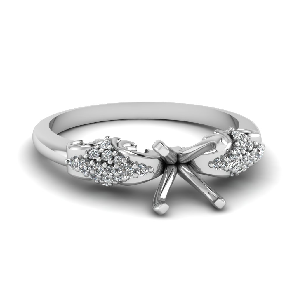 Explore Our Semi Mount Side Stone Rings Engagement Rings