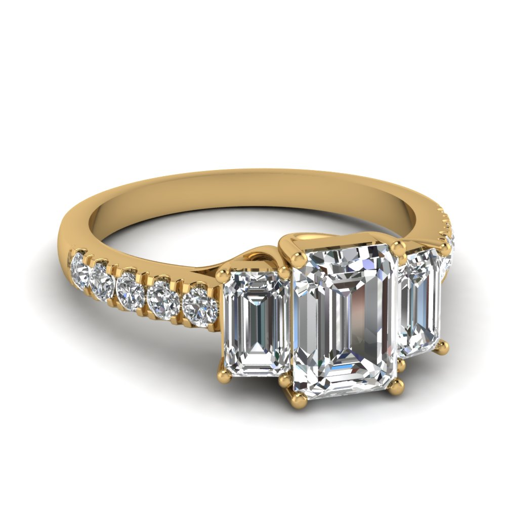yellow-gold-emerald-white-diamond-engagement-wedding-ring-in-prong-set-FDENR7282EMR-NL-YG