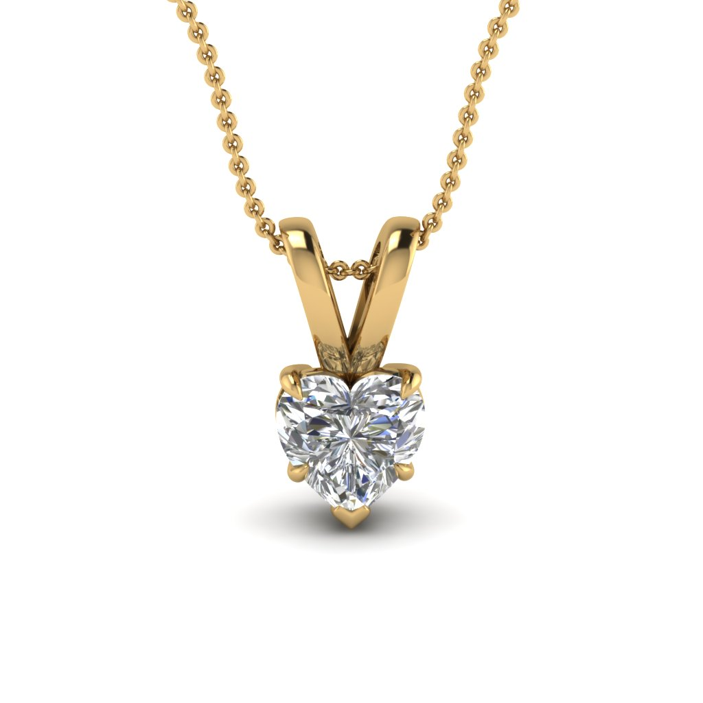 white and yellow gold pendant white gold