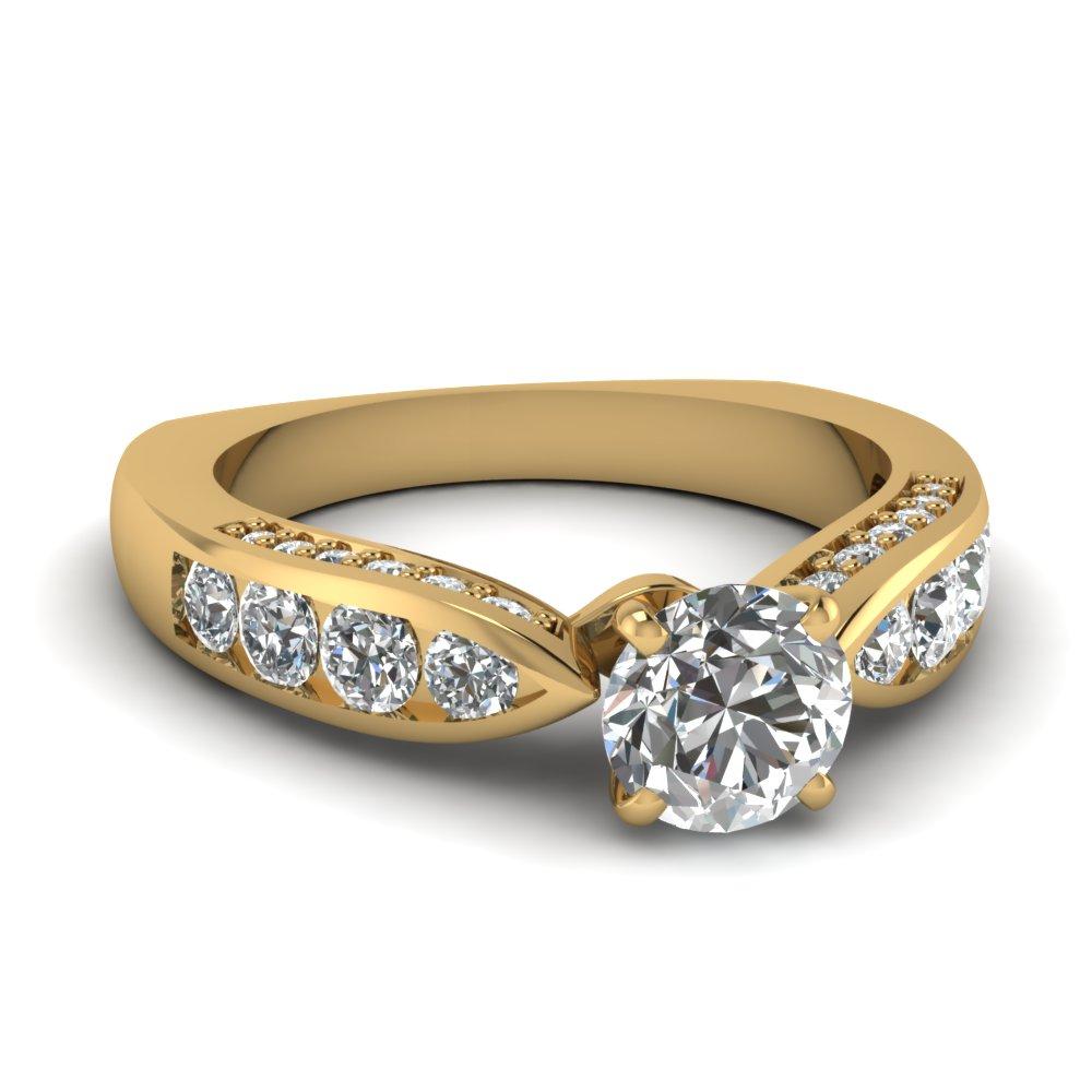 Round Brilliant Cut Diamond Engagement Ring