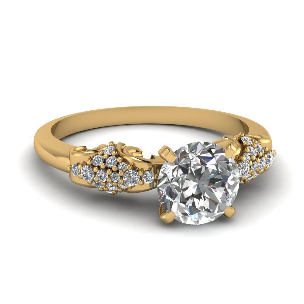 expensive yellow gold diamond ring - Extravagant Wedding Rings