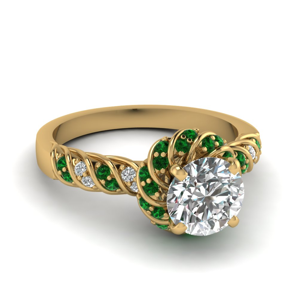 Emerald Green Wedding Ring The Most Beautiful Wedding Rings Emerald Green Wedding